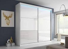 modern sliding doors. Image Is Loading NEW-BEDROOM-modern-sliding-doors-LACOBEL-GLASS-WARDROBE- Modern Sliding Doors