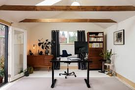 healthy home office. Create A Healthy Home Office With The Jarvis Standing Desk, HAG Capisco, And