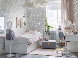 Bedroom ideas for young adults girls Interior 12monochromebedroomikea Hello Magazine 12 Girls Room Ideas And Inspiration