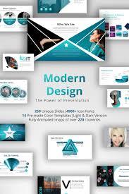 Design Presentation Templates Modern Design Powerpoint Template