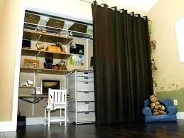 replace closet doors with curtains replace closet door with curtain closet door ideas simplistic homemade dark