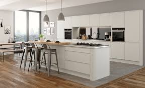 Modern Contemporary Kitchen Strada Gloss Modern Cashmere Kitchen Stori