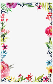 Border Lines Design Flowers Png Group Hd Png Download