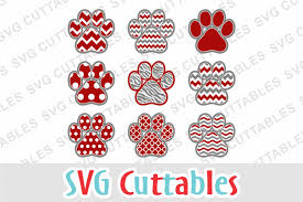 Free Paw Svg Paw Print Patterned Svg Crafter File Download Free Svg Files Creative Fabrica