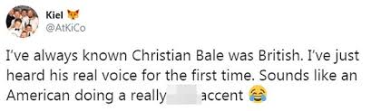 Christian Bales Prominent Cockney Accent Leaves Shocked