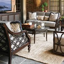 tommy bahama black sands 5person aluminum patio deep seating set tommy bahama outdoor furniture a59