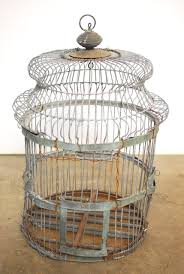 fullsize of soulful rare century french hanging birdcage made features a domed a century french zinc