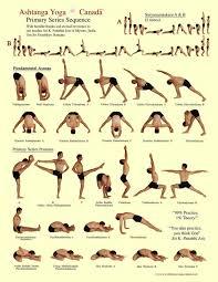 Yoga Flow Chart Ashtanga Yoga Primary Series Ashtanga