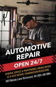 Auto Repair Flyer Auto Repair Flyer Maker A273