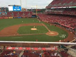 Great American Ball Park Section 418 Home Of Cincinnati Reds