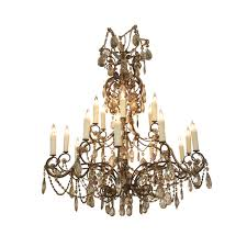 19th century 18 light french chandelier