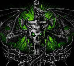 cool skull wallpapers. Unique Wallpapers Green Skull Wallpapers  Wallpaper Cave On Cool