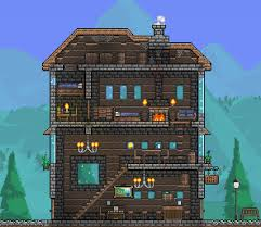 My take on a cozy little inn/tavern : Terraria