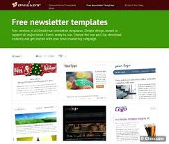 Free Downloadable Newsletter Template Newsletter Templates Free Download Syncla Co