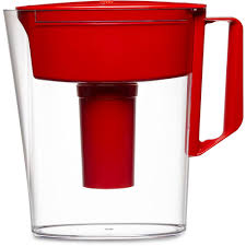 Brita 5 Cup Filtered Water Pitcher in Red 6025836090 The Home Depot