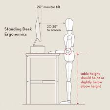 how high should a standing desk be best desk chair for back pain check more