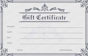 Store Gift Certificate Template Gift Cheque Template Under Fontanacountryinn Com