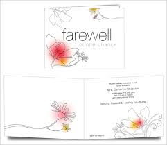 Free Farewell Card Template Awesome Farewell Card Template 48 Free Printable Word PDF PSD EPS