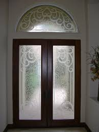 glass entry doors and transum carved glass tuscan sans soucie