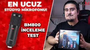 LastVoice BM800 Kondenser Mikrofon İnceleme + Ses Testi (USB Ses Kartı /  Phantom Power) - YouTube