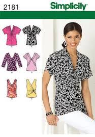 Simplicity Blouse Patterns Extraordinary BLOUSE TOP TUNIC SEWING PATTERN SIMPLICITY Choose PLUS 48488 Sew A