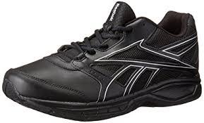 reebok dmx max. reebok men\u0027s dmx max stride rs ltr 2.0 walking shoe, black/matte silver, dmx e