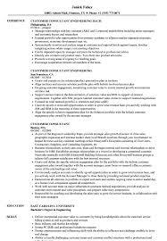 Customer Consultant Resume Samples Velvet Jobs
