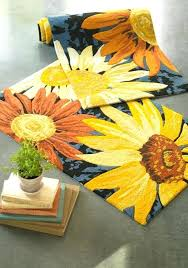 wonderful sunflower rug outstanding best rugs and doormats images on area rugs indoor with regard to