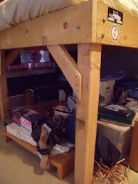 Plans For A Loft Bed Diy 4x4 Bunk Beds Make Your Own Loft Bed Bodacious Bunk Beds