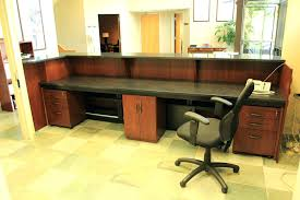 office reception desk. Full Size Of Front Office Receptionist Desk Reception Desks For Sale Chiropractic Reclaimed Wood Counter Photos