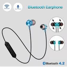 Tai Nghe Nhét Tai Bluetooth Không Dây Chống Nước Có Nam Châm Hít Cho Iphone  11 11 Pro