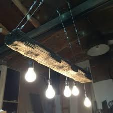 beautiful wooden beam chandelier wood diy roost reclaimed rustic west ninth vintage lighting uk