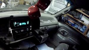 Install of LED's into gauge cluster on a 96 GMC Sierra - YouTube