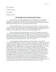 Personal Biography Examples Essay Sample On Yourself Example