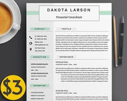 Modern Creative Executive Resume Template Professional 4 Page Cv ...
