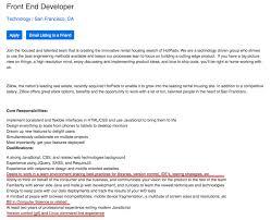 Java Front End Developer Resume Resume For Your Job Application