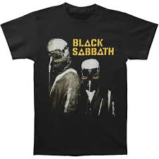 Clothing Bravado Mens Black Sabbath Never Say Die T Shirt