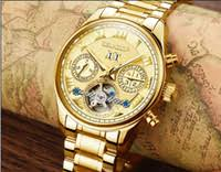 whole watches usa buy cheap watches usa from chinese usa style automatic mechanical gold watch for men new day week month steel clock charm luxury mens designer gift wrist watches brand