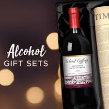 personalise alcohol gift sets
