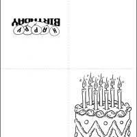 black and white birthday cards printable black and white birthday cake happy birthday cards pinterest