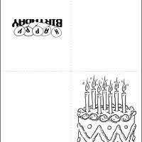 black and white birthday cards printable black and white birthday cake happy birthday cards pinterest