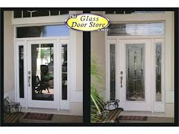 front door side panel glass replacement fine with panels