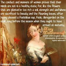 Women's Rights Quotes Impressive Mary Wollstonecraft Quote Women Awesome Quotes By Women