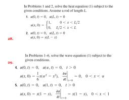 2 solve the heat equation