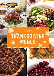 On the other hand, on summer days we like to eat simple food like salad, pasta recipe or grilled recipe, skewer recipe, etc. Easy Thanksgiving Menus Recipetin Eats