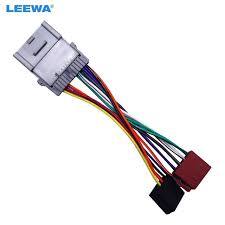 leewa car radio cd player wiring harness audio stereo wire adapter pontiac sunfire wiring harness leewa car radio cd player wiring harness audio stereo wire adapter for chevrolet gmc