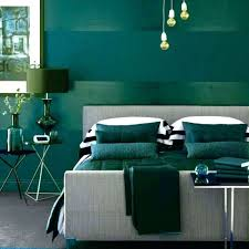E Dark Green Bedroom From The Color  Carpet