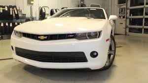 2014 White Camaro RS Convertible for sale - YouTube