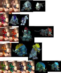 Troll Druid Color Chart Troll Druid Form Color Chart Wow_ladies Livejournal