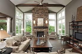 stone fireplace design ideas living room decor